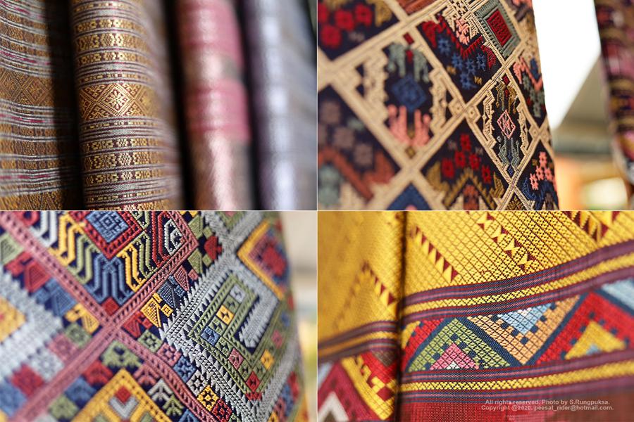 ร้านลำดวนผ้าทอ เมืองปัว จังหวัดน่าน ผ้าทอของฝากขึ้นชื่อ