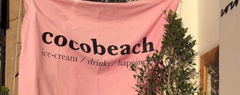 Coco Beach Café Pattaya ปิกนิกริมหาด แบบคิวท์ๆ