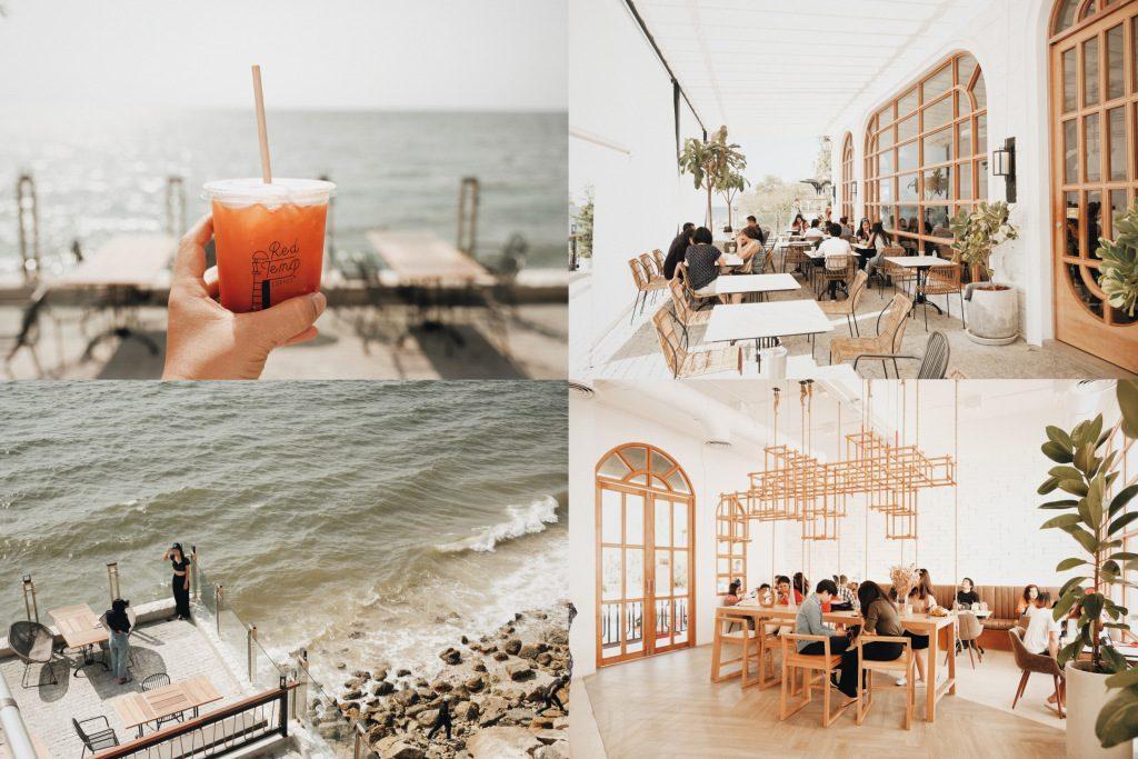บางแสนเปิดแล้ว! Red Temp Coffee คาเฟ่นั่งชิลล์ ชมวิวทะเลบางแสน 180 องศา 9