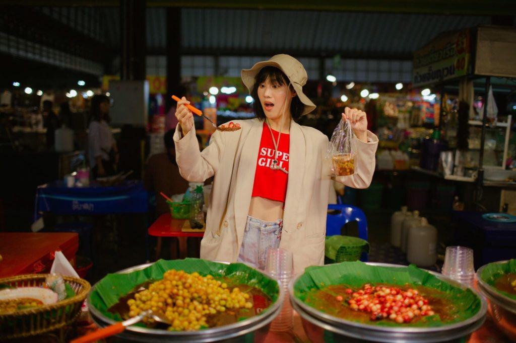 อาหารครอบทุกอย่าง ที่ ตลาดนินจาอมตะ