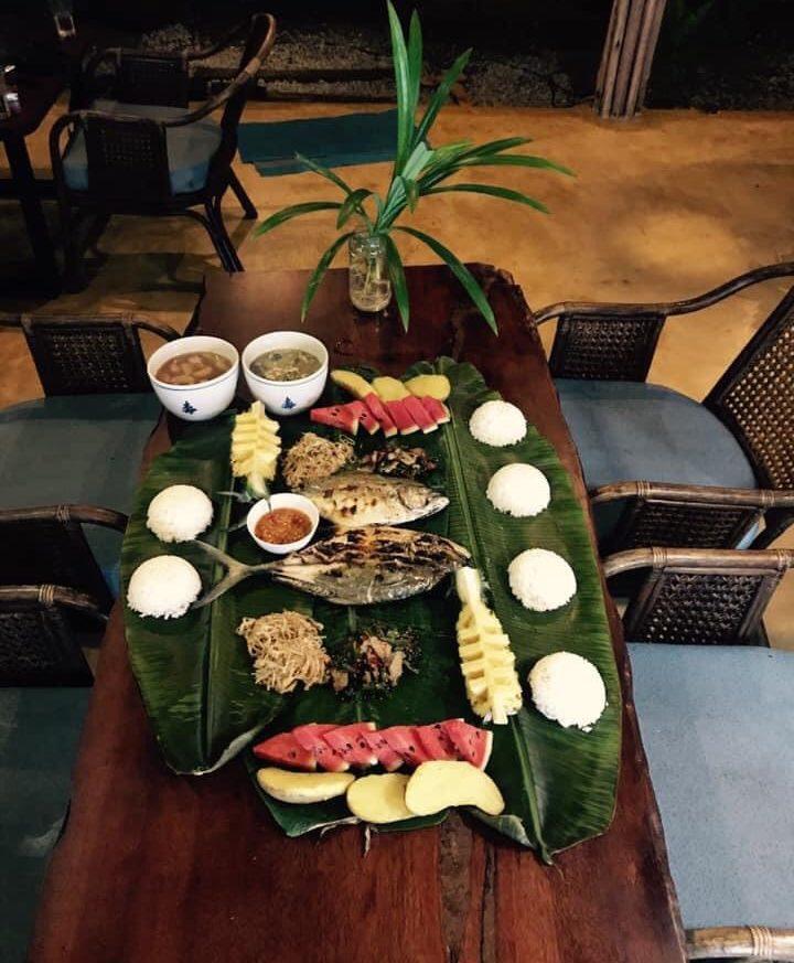 อาหารที่ โคโค่ แคมป์ปิ้ง เกาะกูด