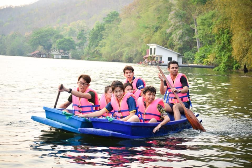 บ้านใจรัก รีสอร์ท กาญจนบุรี พายเรือชมวิว