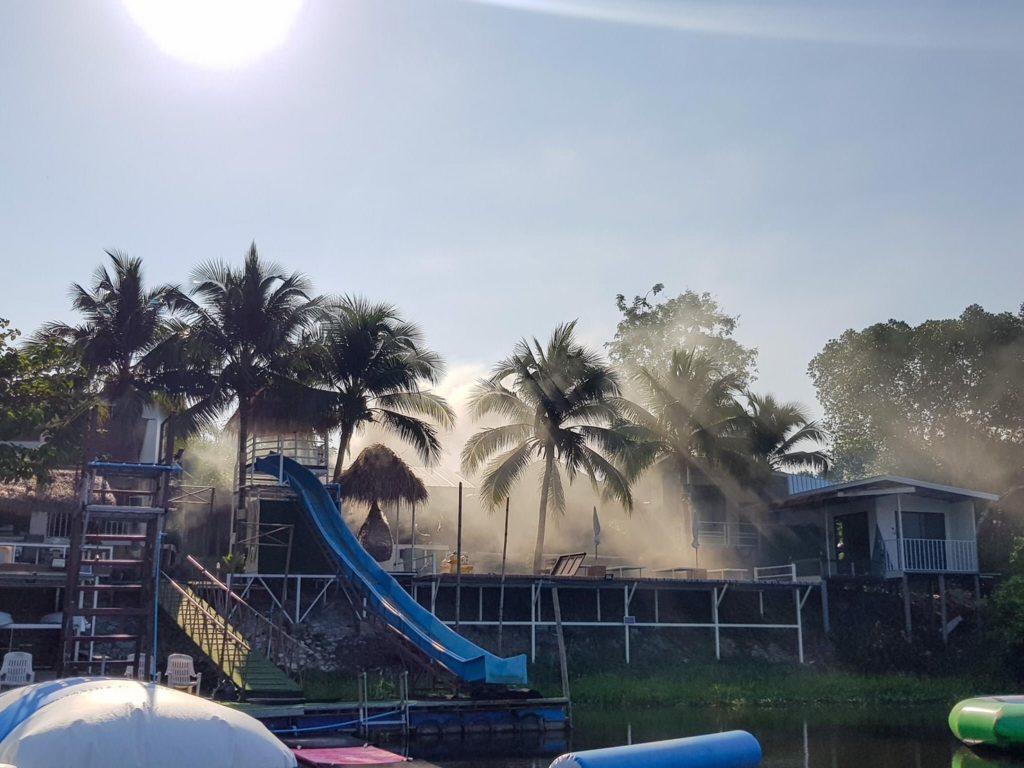 สายน้ำจันท์ โฮมสเตย์ พักผ่อนกินเที่ยวแบบบุบเฟ่ที่เดียวจบ @จันทบุรี เครื่องเล่นมากมาย