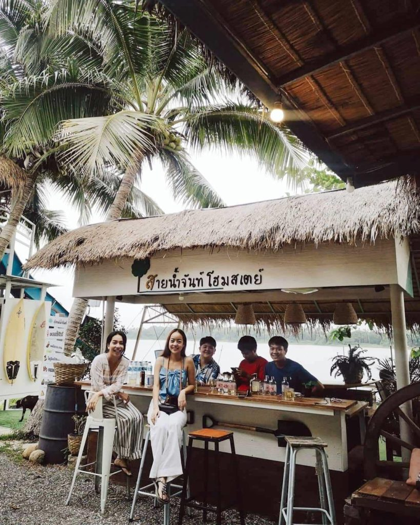 สายน้ำจันท์ โฮมสเตย์ พักผ่อนกินเที่ยวแบบบุบเฟ่ ที่จันทบุรี