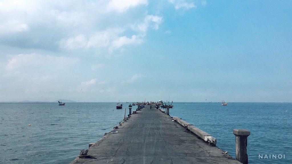 บางแสนเปิดแล้ว ที่นี้สะพานปลาหาดวอนภา
