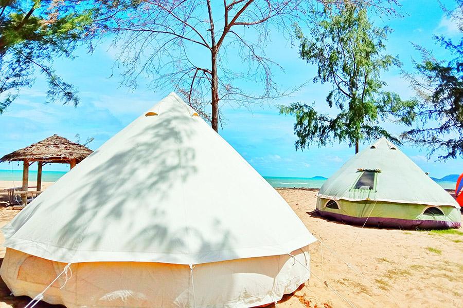 หาด EOD นภาธาราภิรมย์ พักแรมที่นี้