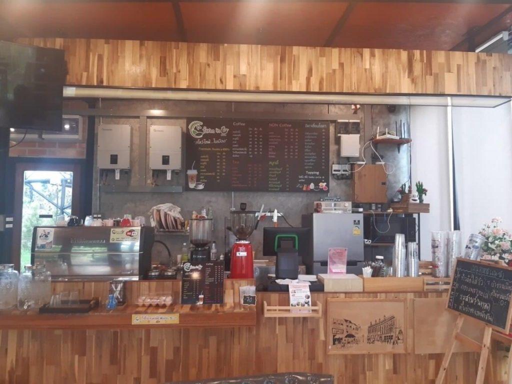 Farm in C-Coffee มีเครื่องดื่มให้เลือกมากมาย