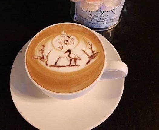 จิบกาแฟ จูโม้งเชียงราย คาเฟ่ขนาดใหญ่ วิวสวยท่ามกลางขุนเขา @เชียงราย