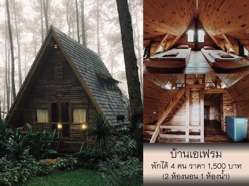 สวนป่าดอยบ่อหลวง บ้านเดี่ยว