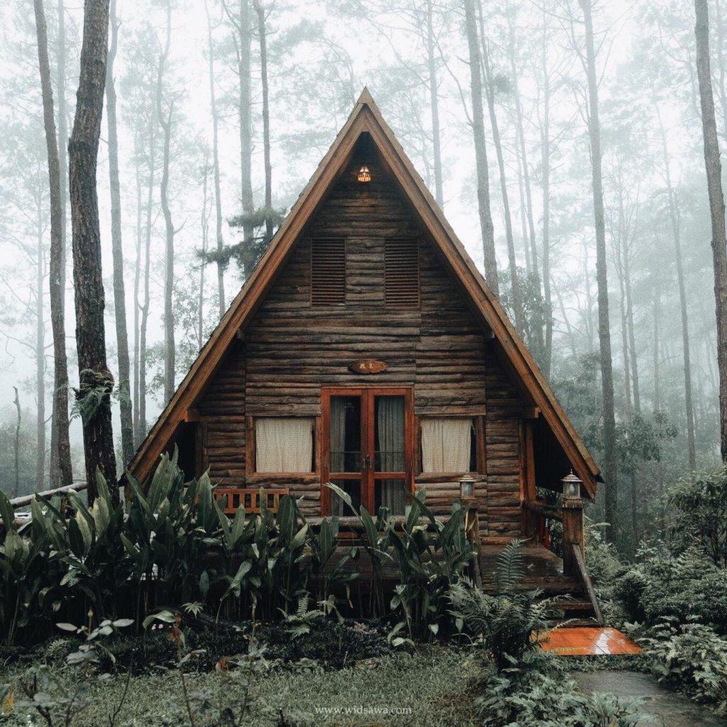 สวนป่าดอยบ่อหลวง บ้านหลังน้อยใน