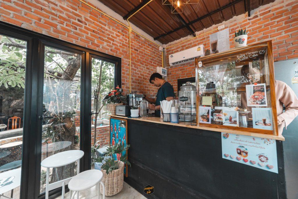 เปิ๊บคาเฟ่ (Perbdolcee Cafe) คาเฟ่ลับ เล็กๆแต่น่ารัก วังทอง