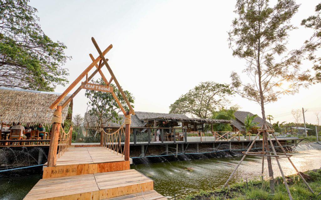 Craft Land คาเฟ่ในสวน ที่นี้ราชบุรี