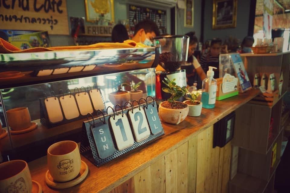 Friend Cafe กาแฟกลางทุ่ง ชมธรรมชาติที่น่าหลงใหล @ชัยนาจ น่าเที่ยว