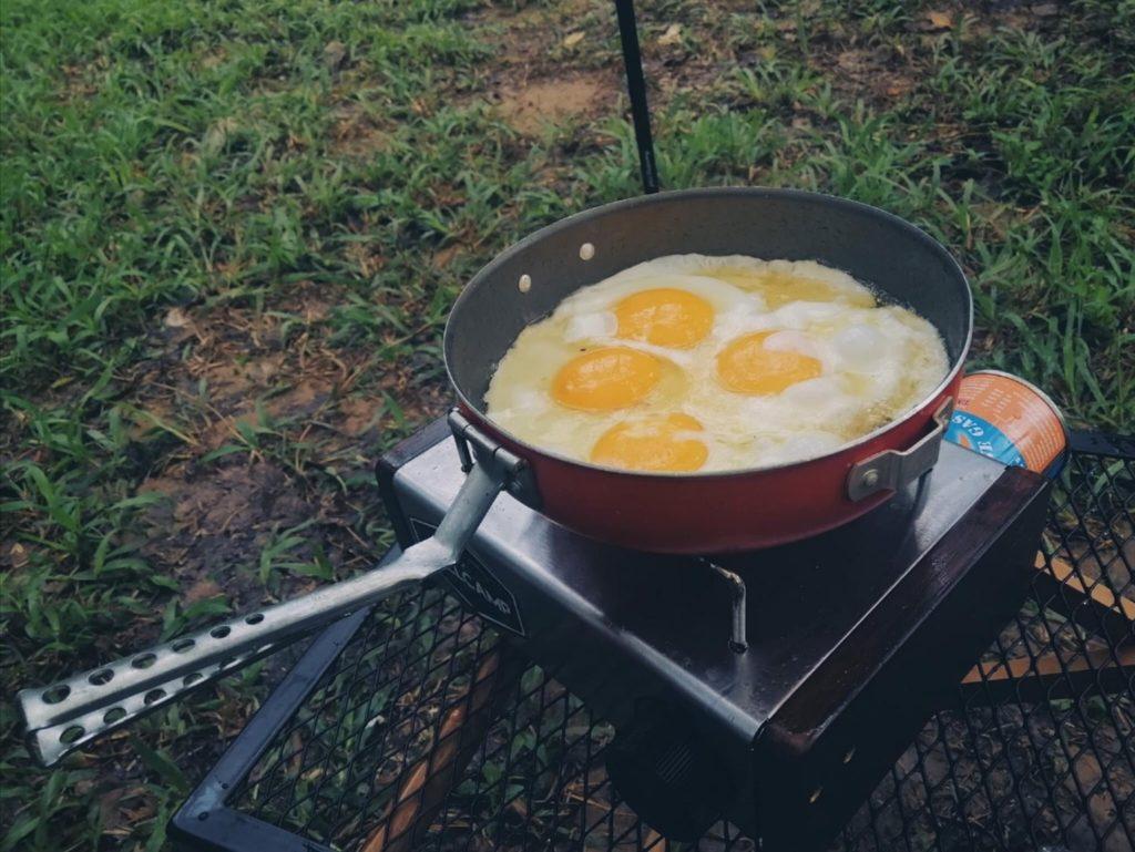 สวนลุงโชย นครนายก อาหารเช้าที่อยู่กลางเขา