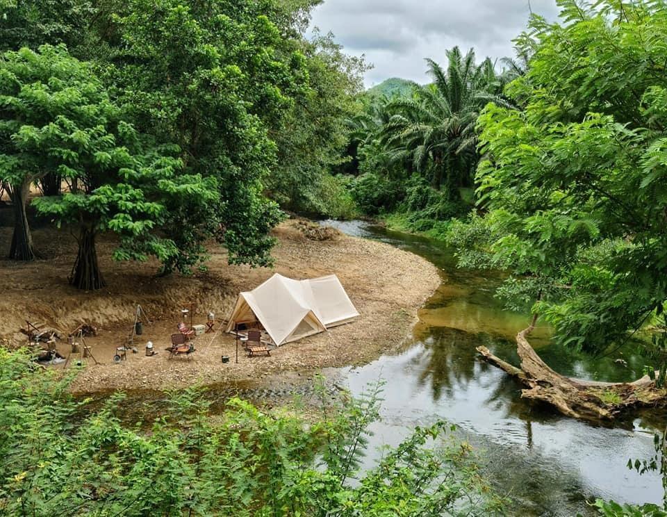 กางเต็นท์ ที่่ ปางหวัน (Pangwan)