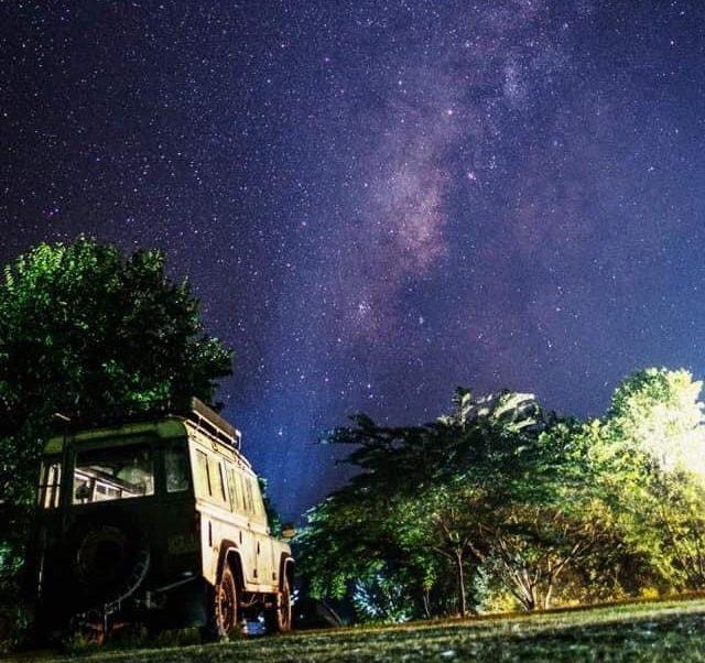 นอนดูดาวที่ ปางหวัน (Pangwan)