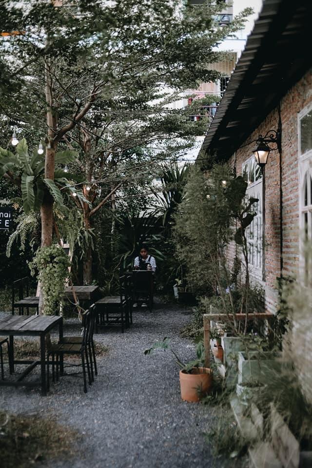 ต้นไม้คาเฟ่ (Tonmai cafe') นั่งพักทานอาหารได้หลายมุม