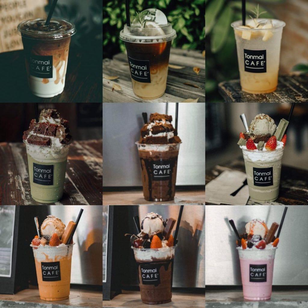 ต้นไม้คาเฟ่ (Tonmai cafe') เครื่องดื่มหลายฟิวชั่น