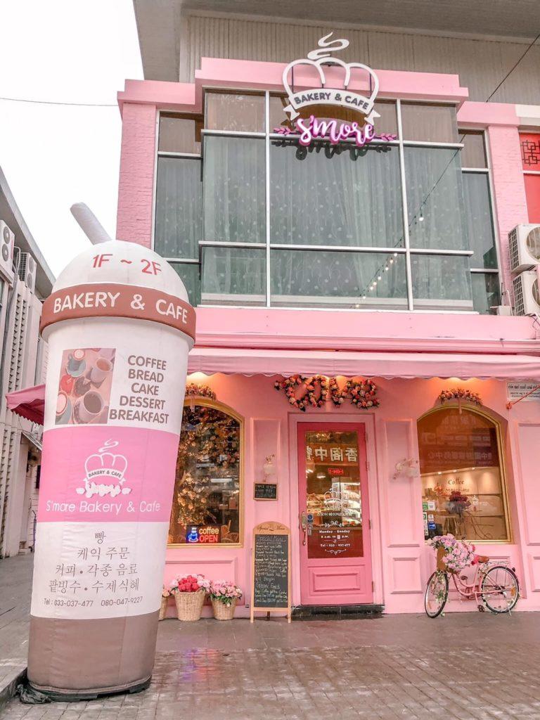 S'more Bakery & Cafe  พัทยา สวยน่านั่ง