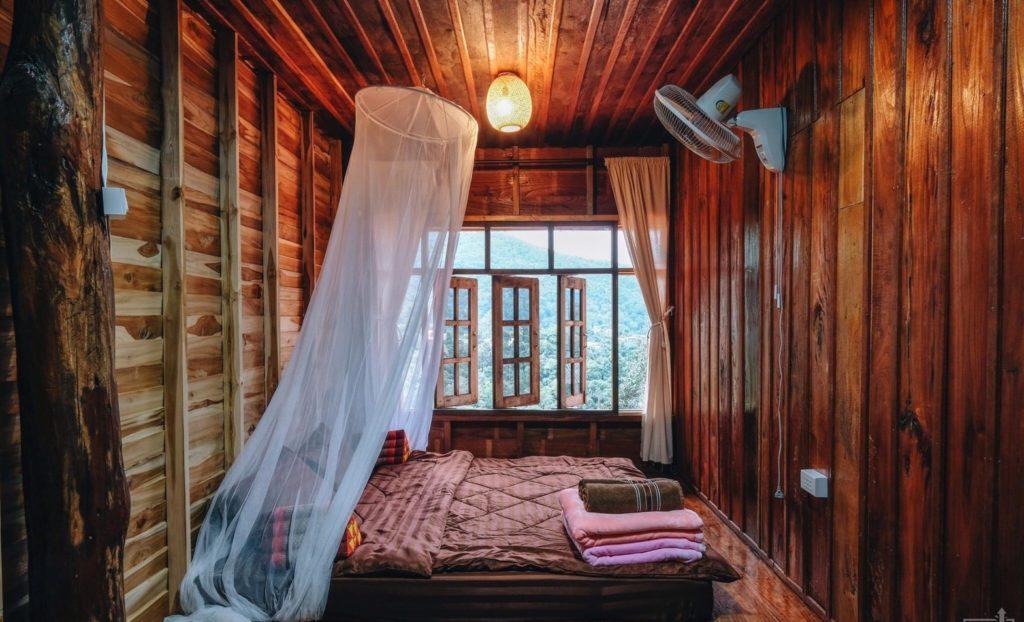 ลุงหมานโฮมสเตย์ดอยสกาด ห้องสวยน่านอน