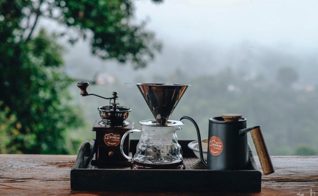 ลุงหมานโฮมสเตย์ดอยสกาด ดริปกาแฟยาวเช้า อากาศดีๆ