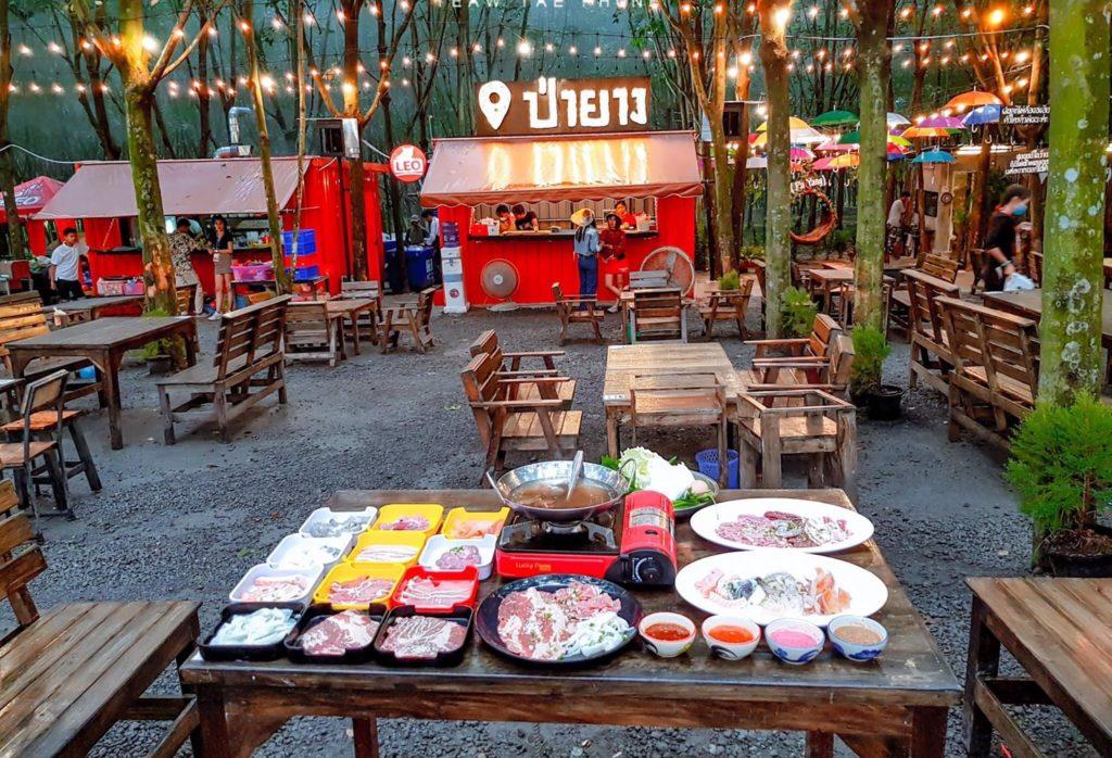 ร้าน ป่ายาง (Pa Yang) ระยอง อาหารหลากหลาย
