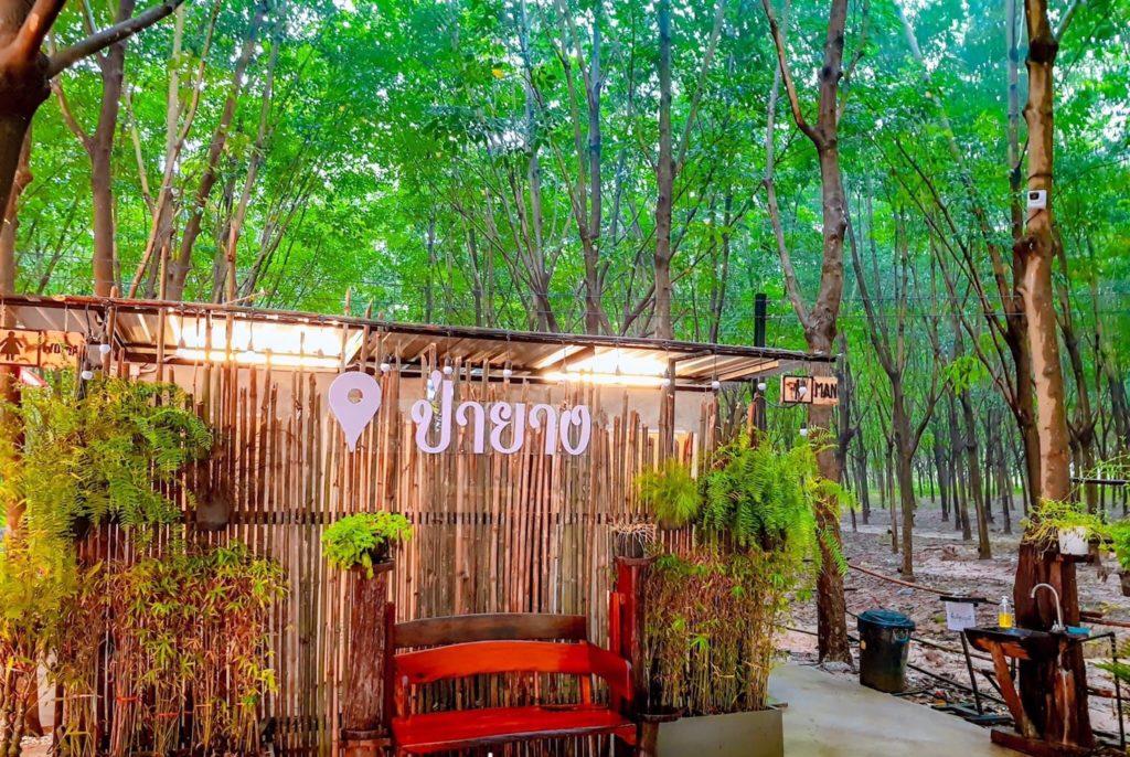 ร้าน ป่ายาง (Pa Yang) ระยอง ห้องน้ำสะอาด