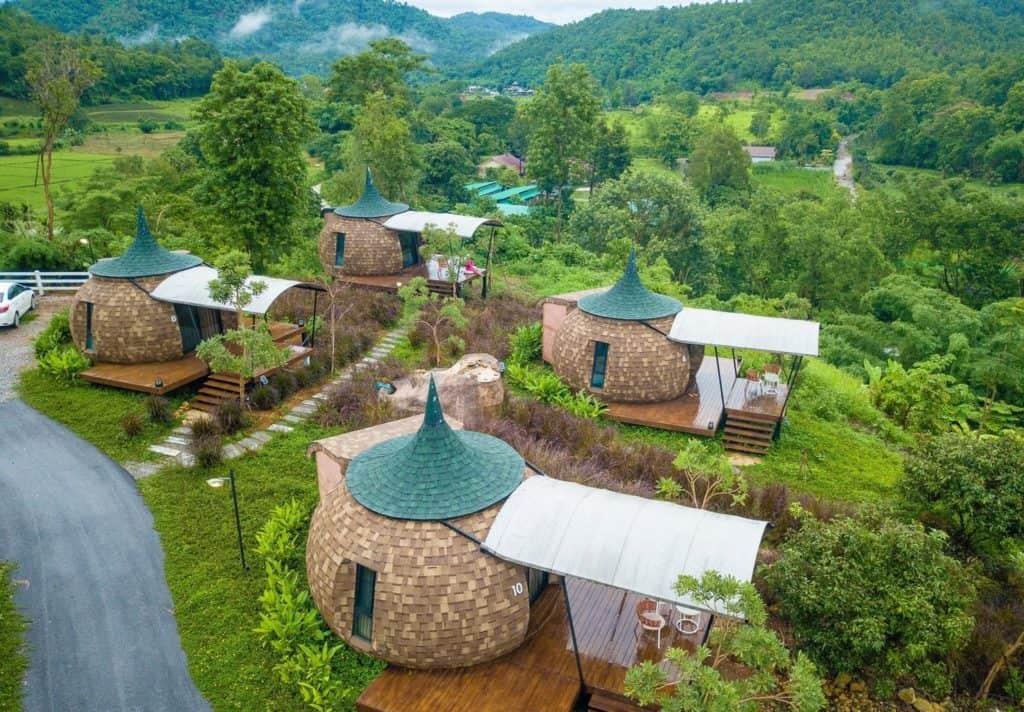 2Someplace Resort ที่พักทรงฟักทองแบบสุดเก๋