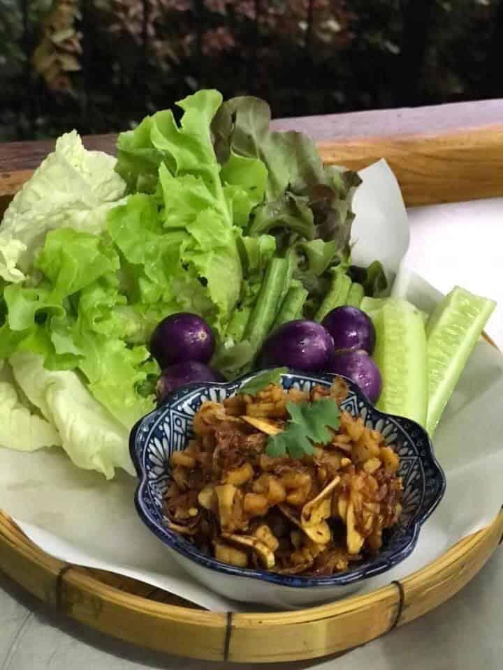 Vintage garden มีอาหารไทยอร่อยๆให้ทาน