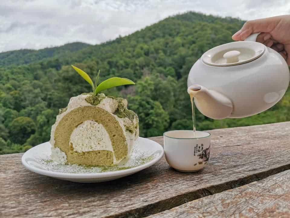 ไร่ชาลุงเดช จิบชาอุ่น ท่ามกลางอากาศเย็นๆ