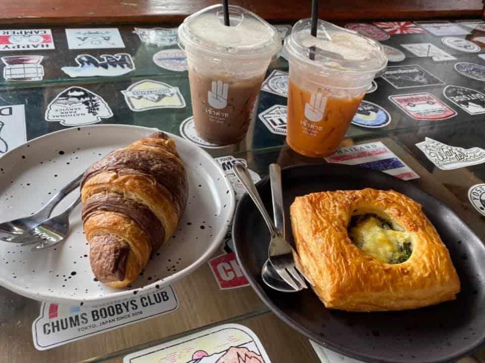 เข้าค่าย Cafe  อาหารและเครื่องดื่มรสชาติดี