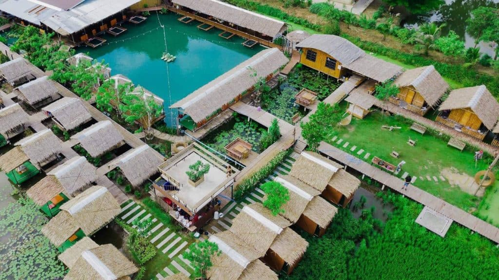 แซ่บนัว ครัวบ้านนาศาลายา พื้นที่กว้างมากๆ