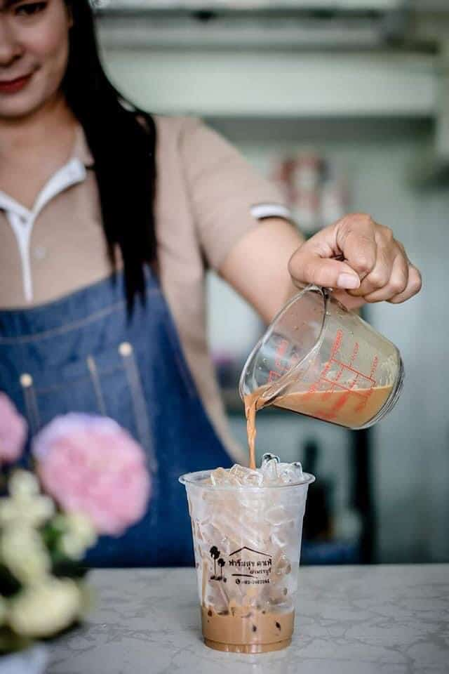 ฟาร์มสุขคาเฟ่ (Farmsuk Cafe) กาแฟอร่อย