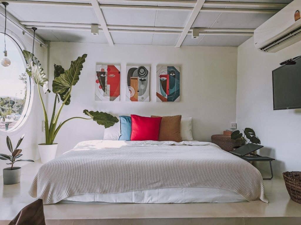 The madives prachin ที่พักสะอาดน่านนอน
