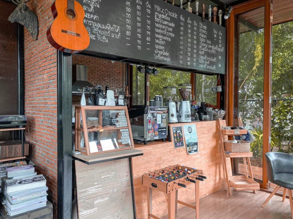 เข้าค่าย Cafe  มีมุมสวยๆหลายมุม