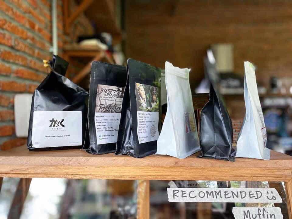 เข้าค่าย Cafe  เมล็ดกาแฟ
