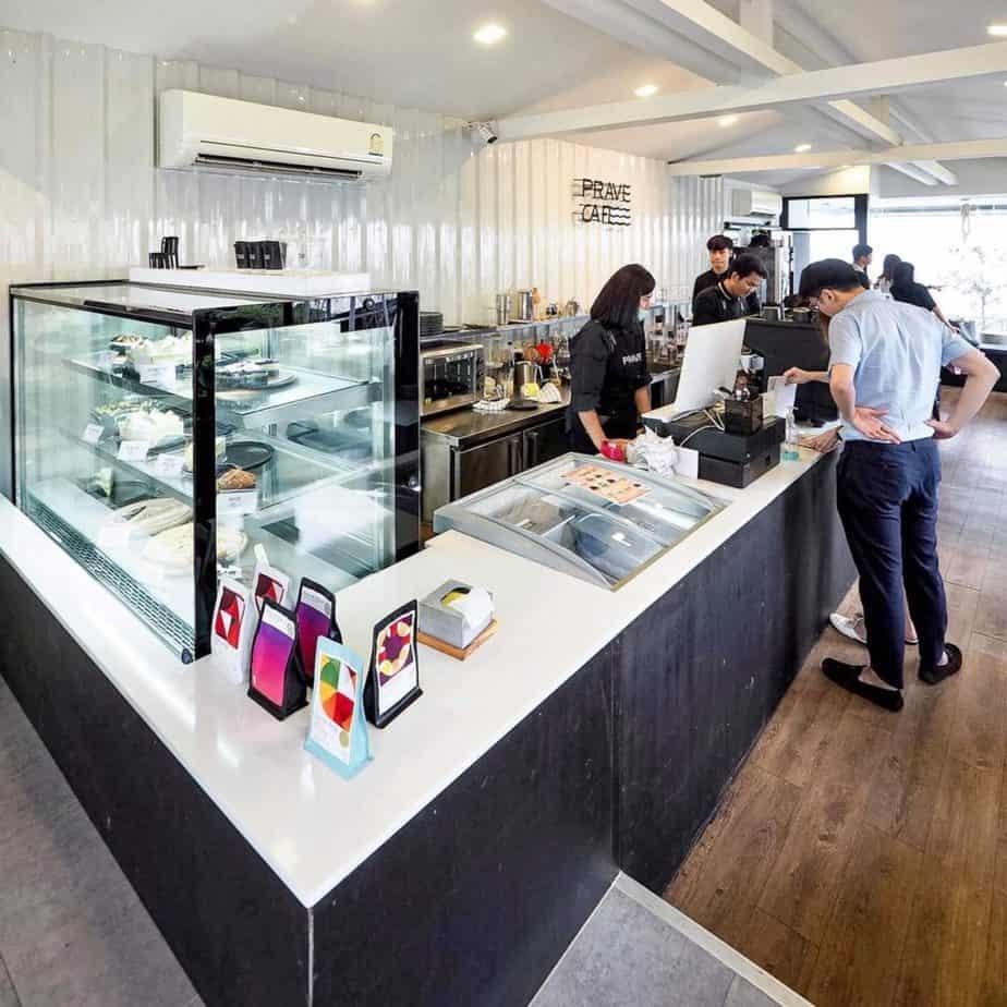 Prave Cafe มีเครื่องดื่มที่หลากหลาย