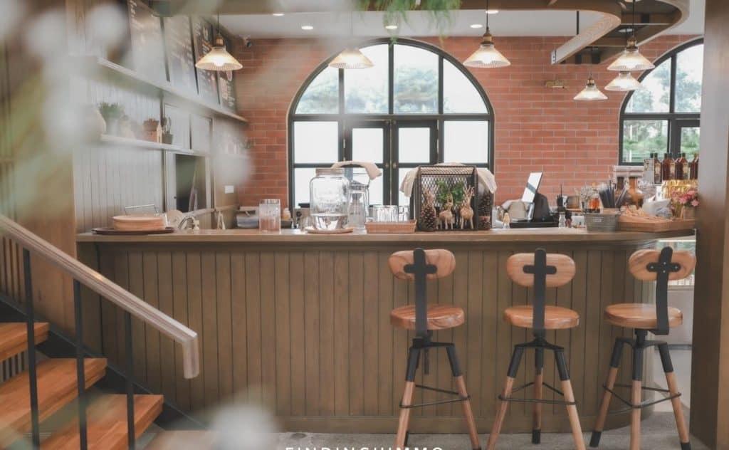 ภายในร้าน Cafe Monte