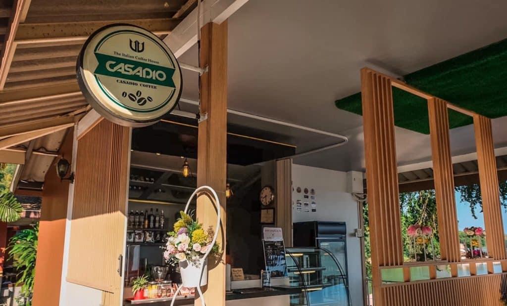 คาเฟ่ที่ Rayaburi Resort (รายาบุรี รีสอร์ท)