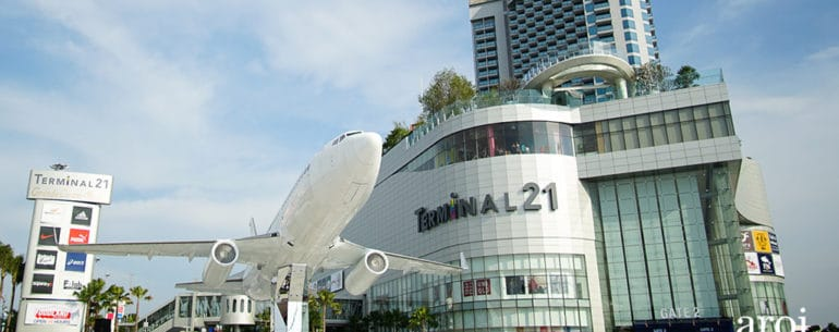 Terminal 21 Pattaya ห้างใหญ่ใจกลางเมืองพัทยา