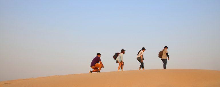 ความสวยงามที่ไม่ต้องไปไกล ถึงซาฮาร่า ก็พบเจอได้ที่ หาดหงส์ อุบลราชธานี