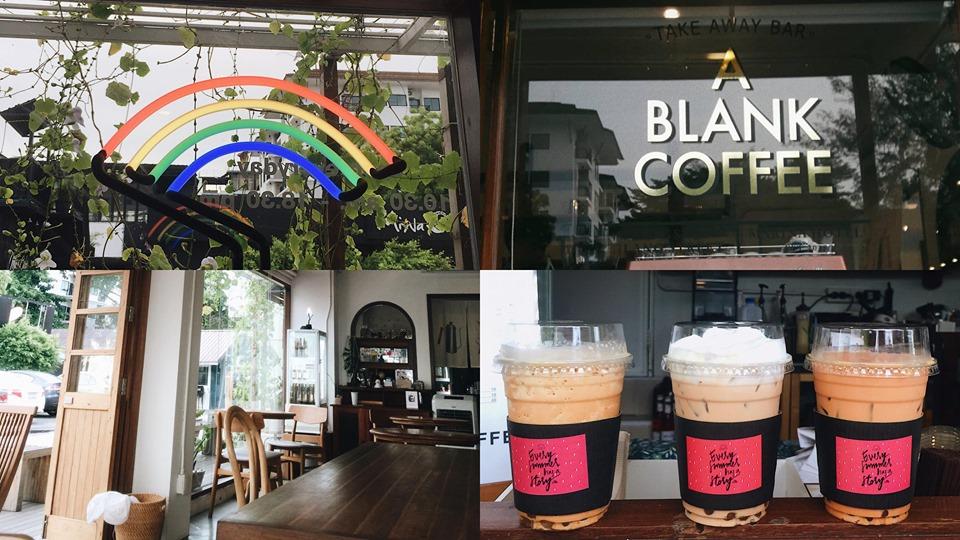 คาเฟ่บางแสนA Blank Coffee เป็นอีกหนึ่งคาเฟ่น่ารัก ๆ ที่อยู่ริมทะเล หาดวอนนภา