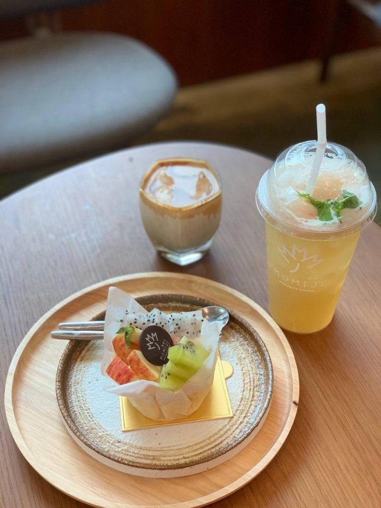 อาหารและเครื่องดื่มน่าทานคาเฟ่บางแสน Momiji Specialty Coffee