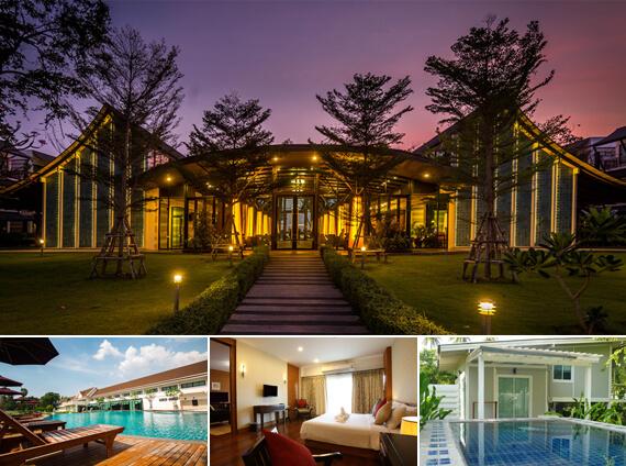 ห้องพักที่โรงแรมบางแสนเฮอริเทจ (Bangsan Heritage Hotel)