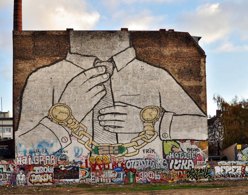Street art ที่ Street art