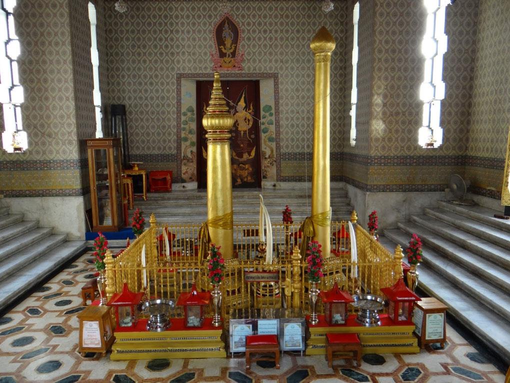 ศาลหลักเมืองกรุงเทพฯ มีการจำกัดปริมาณผู้ที่มานมัสการ เป็นรอบๆ