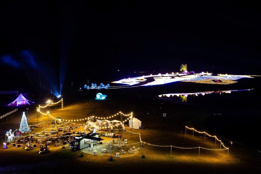 เทศกาลประดับไฟฤดูหนาว ที่สิงห์ปาร์ค
