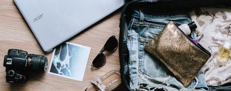 วิธี จัดกระเป๋าเดินทาง แบบประหยัดเนื้อที่