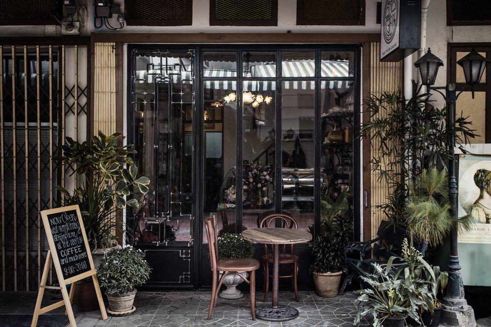 Ha Tien Cafe คาเฟ่โทนสีเขียว น่าเที่ยว